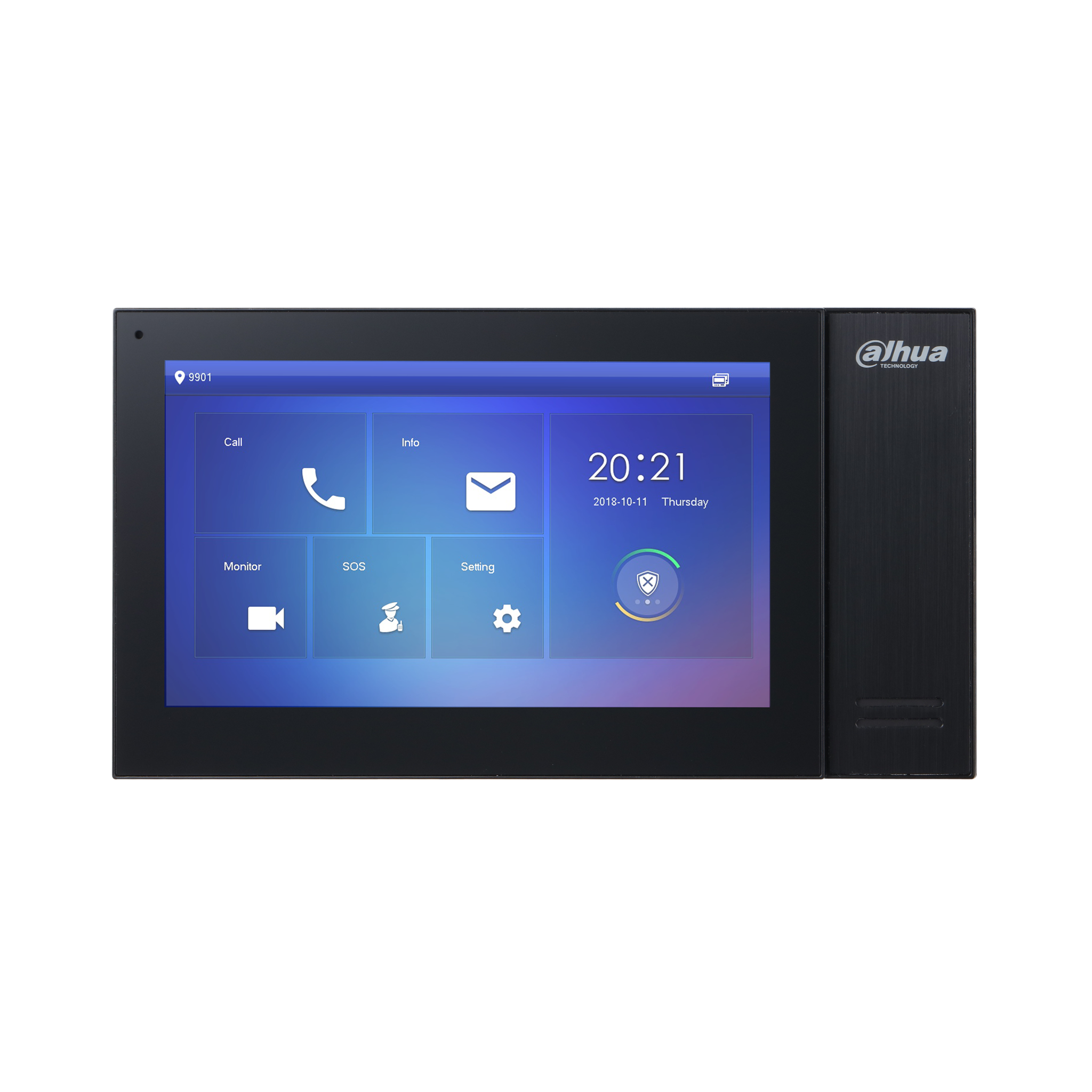 Dahua DHI-VTH2421FB-P 7 Inch Touch Screen IP Indoor Monitor