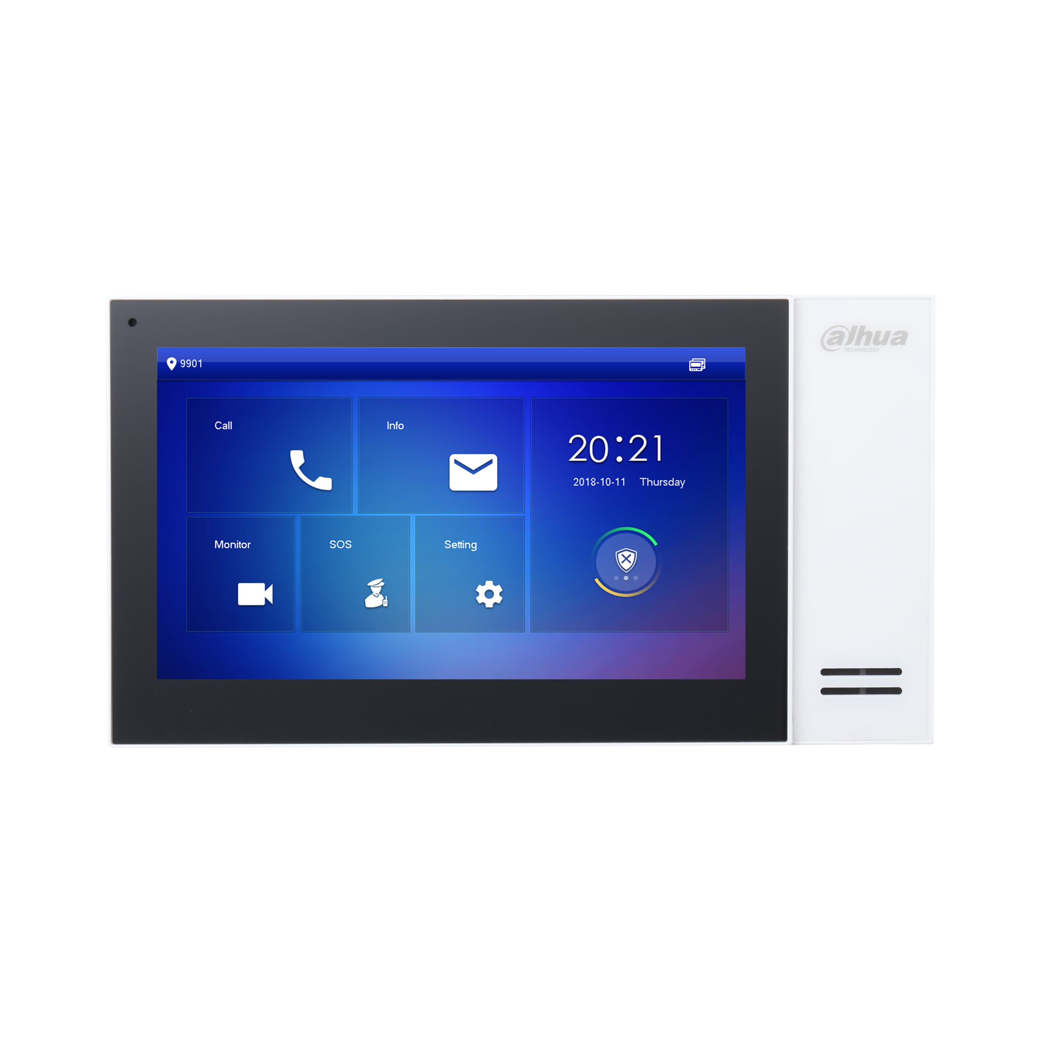 Dahua DHI-VTH2421FW-P 7 Inch Touch Screen IP Indoor Monitor